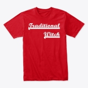 Traditional Witch T-shirt and Other Gifts