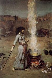 220px-John_William_Waterhouse_-_Magic_Circle