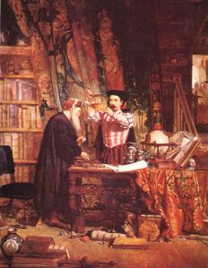 William_Fettes_Douglas_-_The_Alchemist