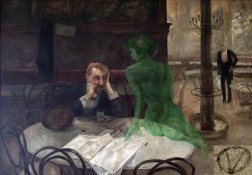 The_Absinthe_Drinker_by_Viktor_Oliva