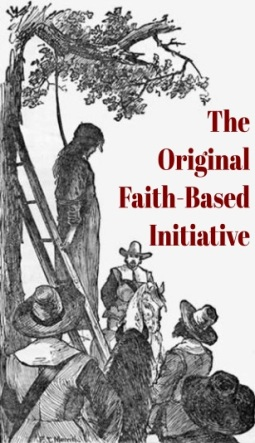 The Original Faith-Based Initiative