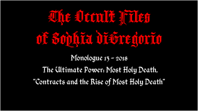 Contracts and the Rise of Most Holy Death